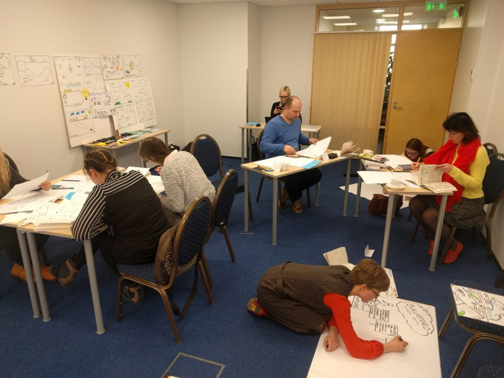 Visual facilitation training