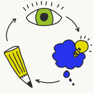 Visual thinking is mainly a tool